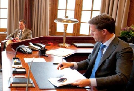 Premier Rutte ook afgeluisterd