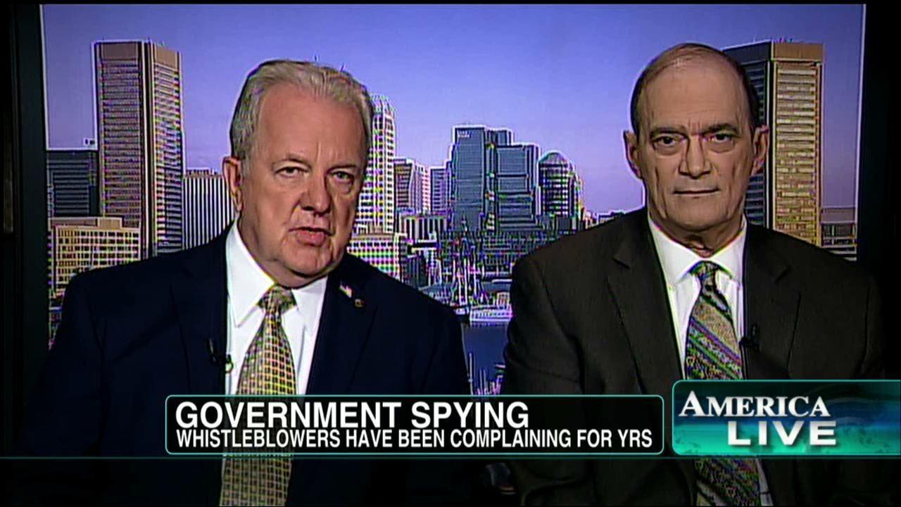 Rode loper voor NSA-dissidenten