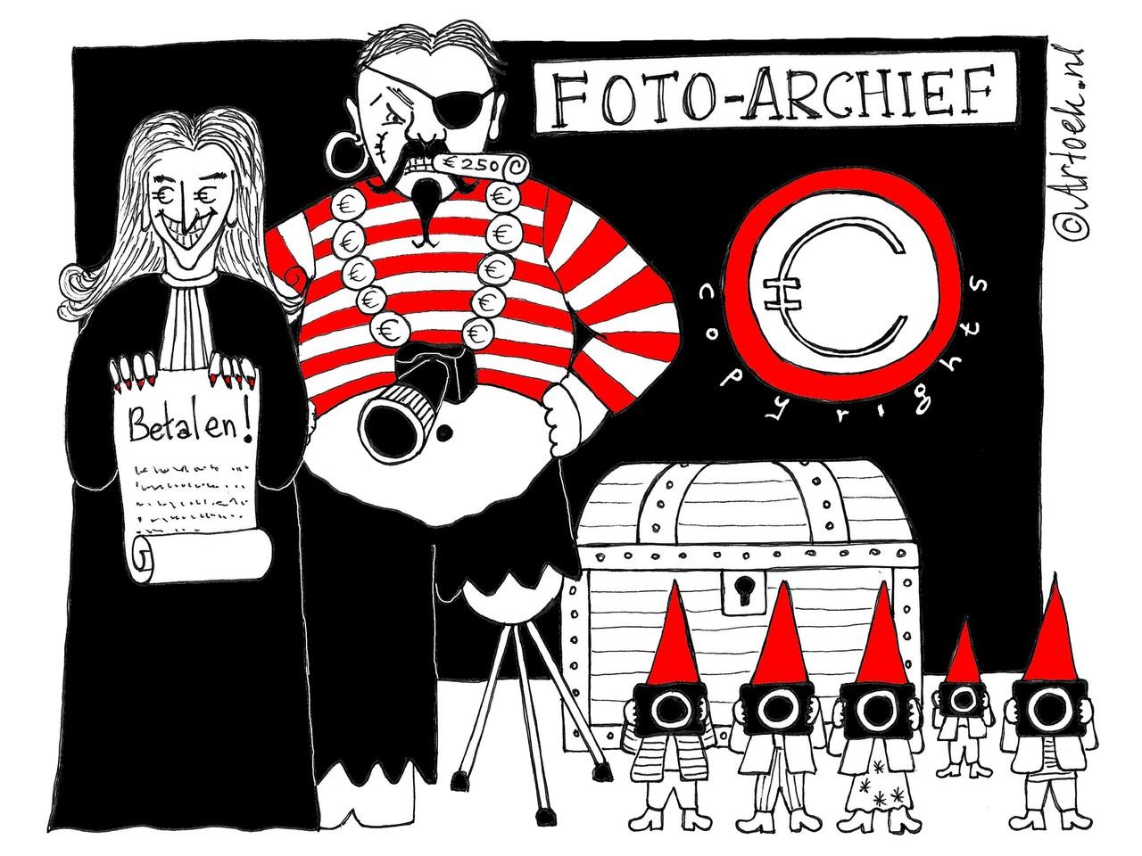 Actie tegen overdreven fotoclaims